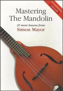 Mastering-the-Mandolin-Simon-Mayor-TAB-Music-Book-with-CD-Learn-To-Play-Method