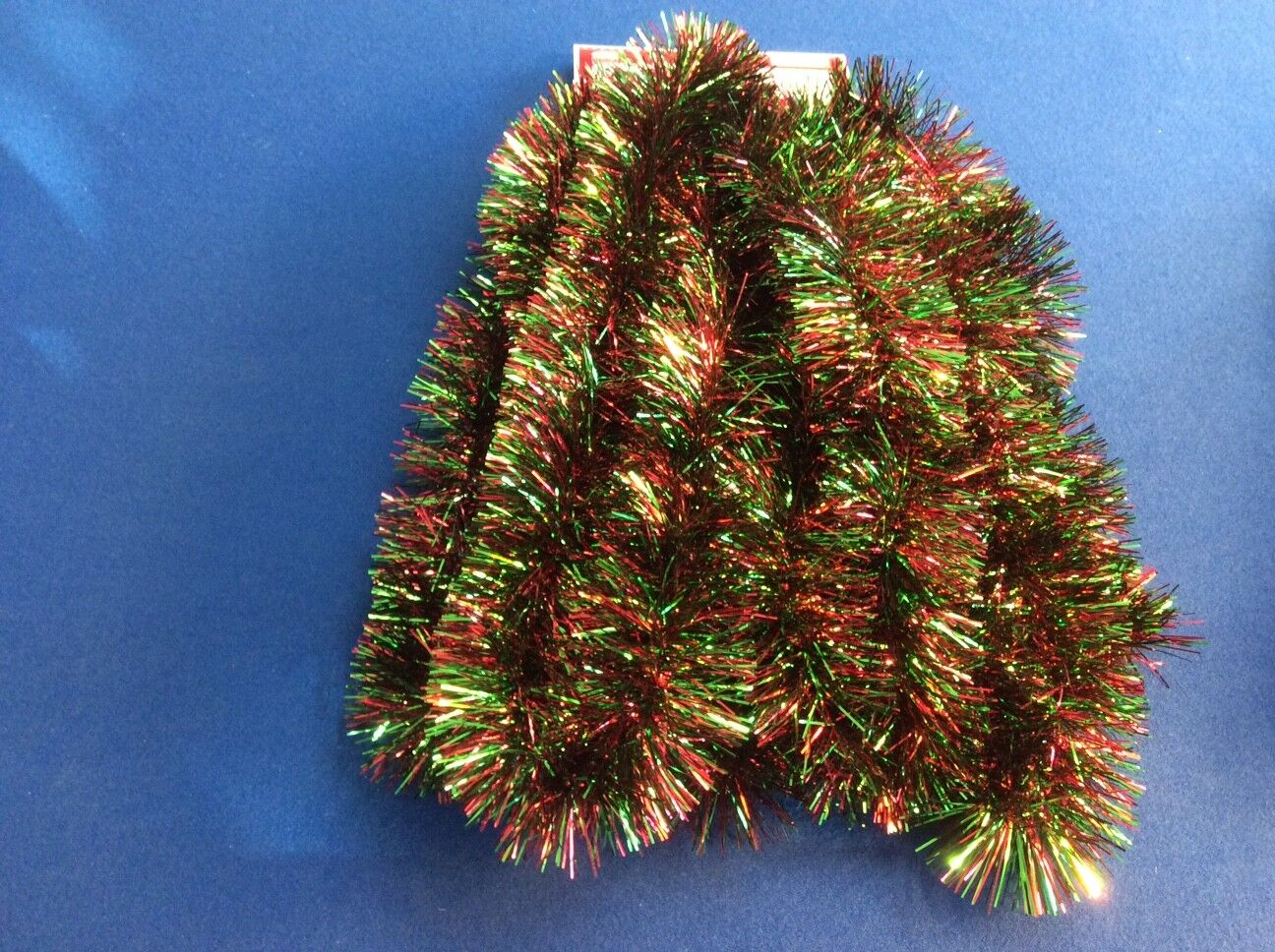 Holiday Time Christmas Tree Tinsel Garland Wide Thick 15 Ft//15/' *YOU PICK STYLE*