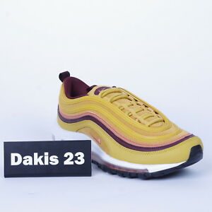 buy online c4250 465b6 Details about Nike WMNS Air Max 97 Mustard Women Lifestyle Sneakers New  921733-700