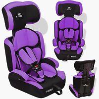 Kidiz® Siège Auto Enfants Siège Auto Avec Extra Coussin 9-36 Kg Groupe 1+2+3 Lil
