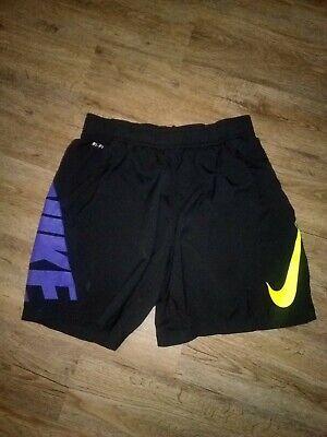 Boys STX $19 Black /& Red Athletic Wicking Shorts Sizes 8 10//12 /& 14//16