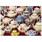 Teapots - Vintage Collection Cobble Hill 1000 Piece Jigsaw Puzzle NEW