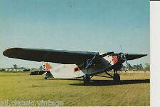 Postcard 54 - Plane/Aviation Ford Tri-Motor 1928 U.S.A. (not 100%)