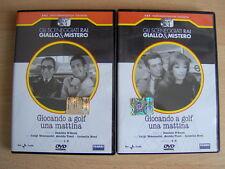 GIOCANDO A GOLF UNA MATTINA (1969) Sceneggiato Rai 2 DVD RARI Giallo Durbridge