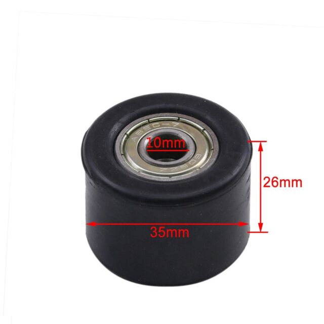 10mm Chain Tensioner Pulley Roller Guide For Pit Trail Dirt Bike Motorcycle
