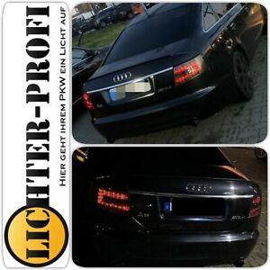 LED Rückleuchten smoke schwarz für Audi A6 4F Limo BJ 2004 bis 2008, Neu!!!