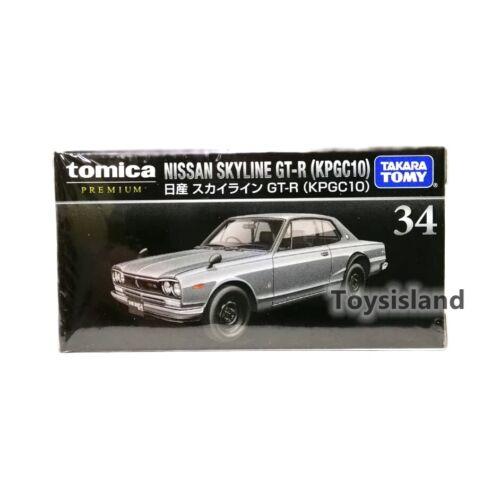 TOMICA PREMIUM 34 NISSAN SKYLINE GT-R KPGC10 1//61 TOMY NEW SILVER