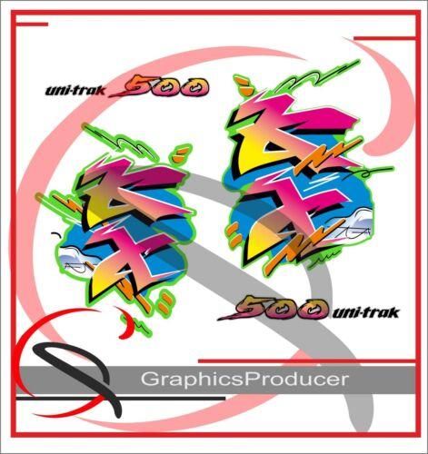 Kawasaki KX500 KX 500 Graphics Stickers Decals Full Set 1988-98 Model  Replica