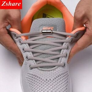 1Pair-No-tie-Shoelaces-Round-Elastic-Shoe-Laces-For-Kids-and-Adult-Sneakers