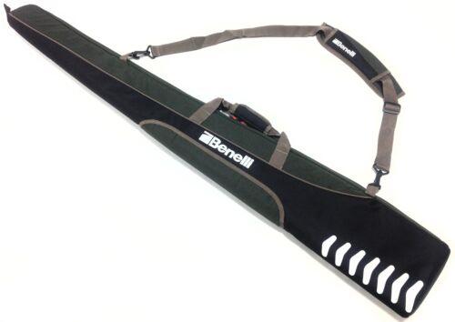 "Benelli 54/"" Green /& Black Padded Shotgun Bag Gunslip"