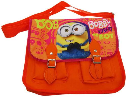 Latest Satchel bag Minions Movie Bob Satchel Messenger School Shoulder Bag