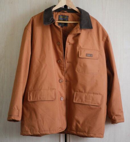 Heavy men's jacket with velvet collar, XL size