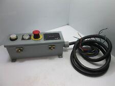 Rittal E4412hc Pushbutton Enclosure Indicator Light Pushbutton E Stop Switch