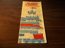 NOVEMBER 1975 AMTRAK EAST-MIDWEST SCHEDULES PUBLIC TIMETABLE