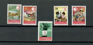TURKEY-EUROPE-COLLECTION-RED-CRESCENT-UNLISTED-MN-USED-STAMPS-LOT-TUR-68-A
