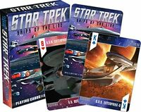 Star Trek - Ships Of The Line - Playing Cards - 52 Card Deck - Brand - 52338