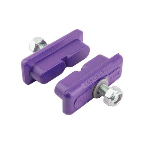 PURPLE Kool Stop CONTINENTAL brake BMX pads for mag wheels Skyway Tuff ACS