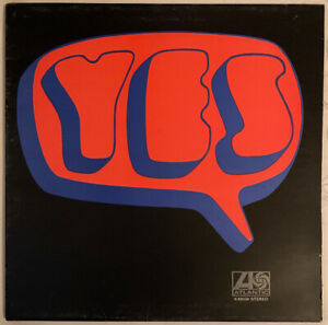 YES SELF TITLED LP ATLANTIC ORANGE GREEN LABELS UK EX CONDITION PRO CLEANED