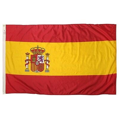Spanien Royal Banner königliche spanische Fahnen Flaggen 30x45cm