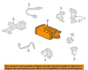 GM OEM-Vapor Canister Fuel Gas Emission 15836560