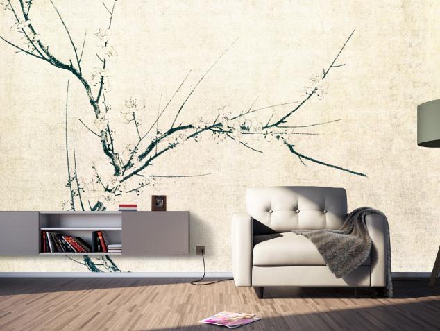3D Einfacher Baum 864 Tapete Wandgemälde Tapete Tapeten Bild Familie DE Summer