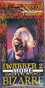JIM WARREN 2 MORE BEYOND BIZARRE 1994 COMIC IMAGES TRADING CARD BOX 48 PACKS