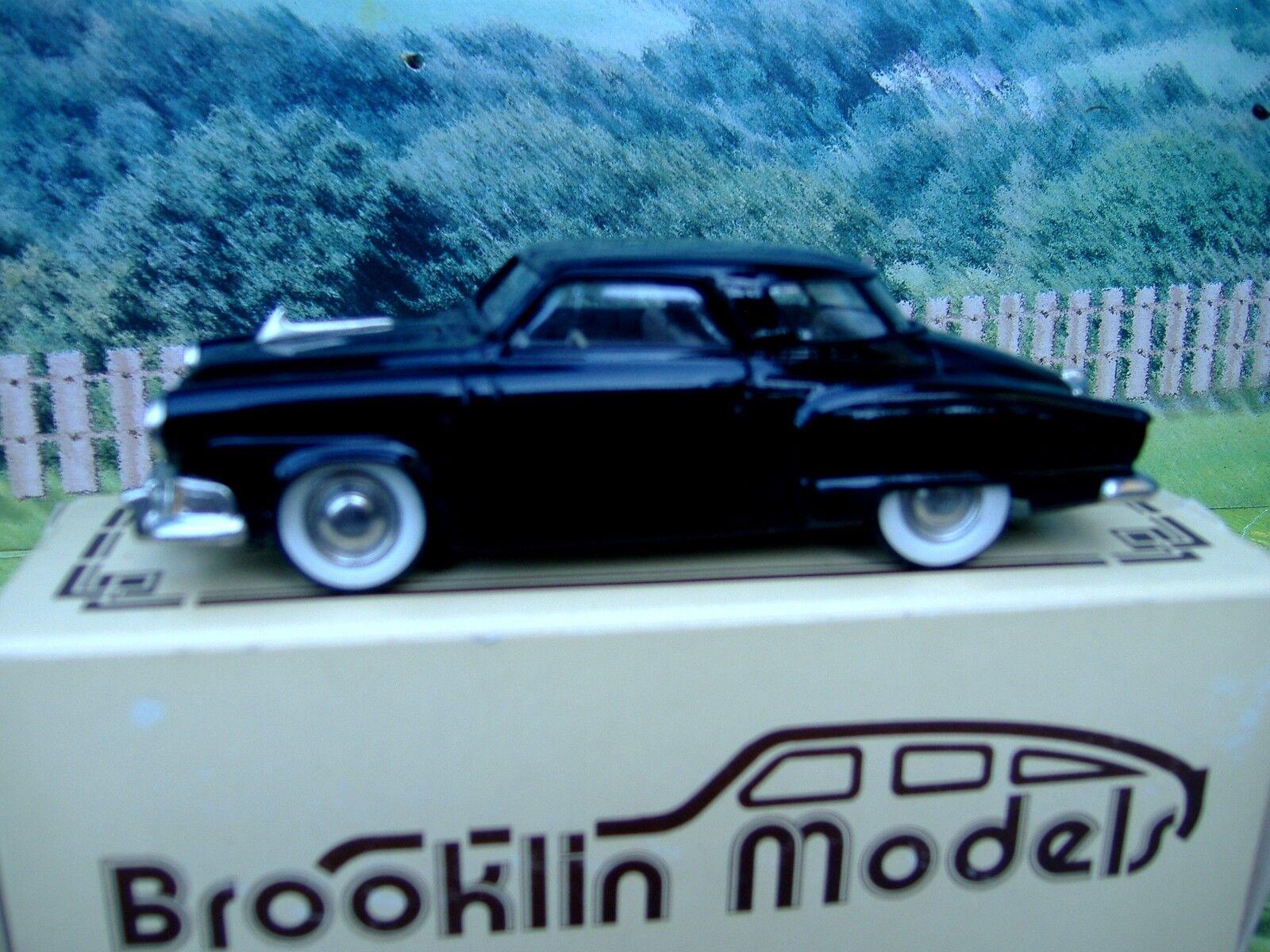 1 43 Brooklin models  1952 Studebaker champion white metal