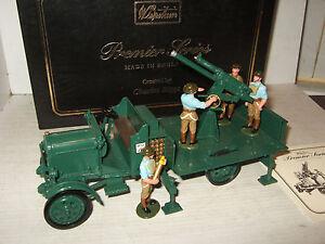 Britains 8926 Premier Series, thornycroft camion anti-aérien et détachement de 4 hommes 50242189124