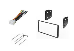 car stereo dash install kit double din wire harness. Black Bedroom Furniture Sets. Home Design Ideas