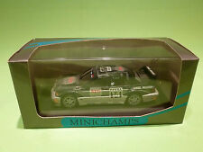 MINICHAMPS  1:43 MERCEDES BENZ 190E EVO 2 - ASCH   DTM -  IN NEAR MINT CONDITION