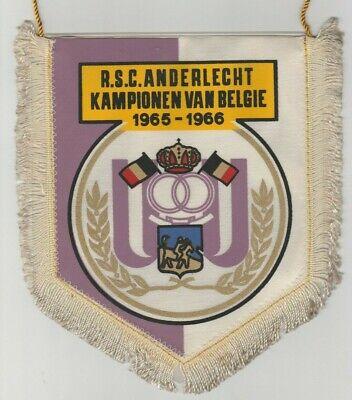Orig.wimpel Rsc Anderlecht (belgien) // Meister 1965/66 - 21 Cm !! Selten