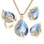 Women-Heart-Pendant-Choker-Chain-Crystal-Rhinestone-Necklace-Earring-Jewelry-Set thumbnail 60