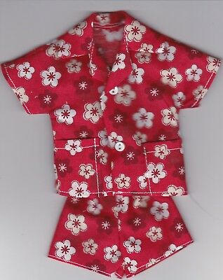 Homemade Doll Clothes-AWESOME Print Cabana Set fits Ken Doll C1
