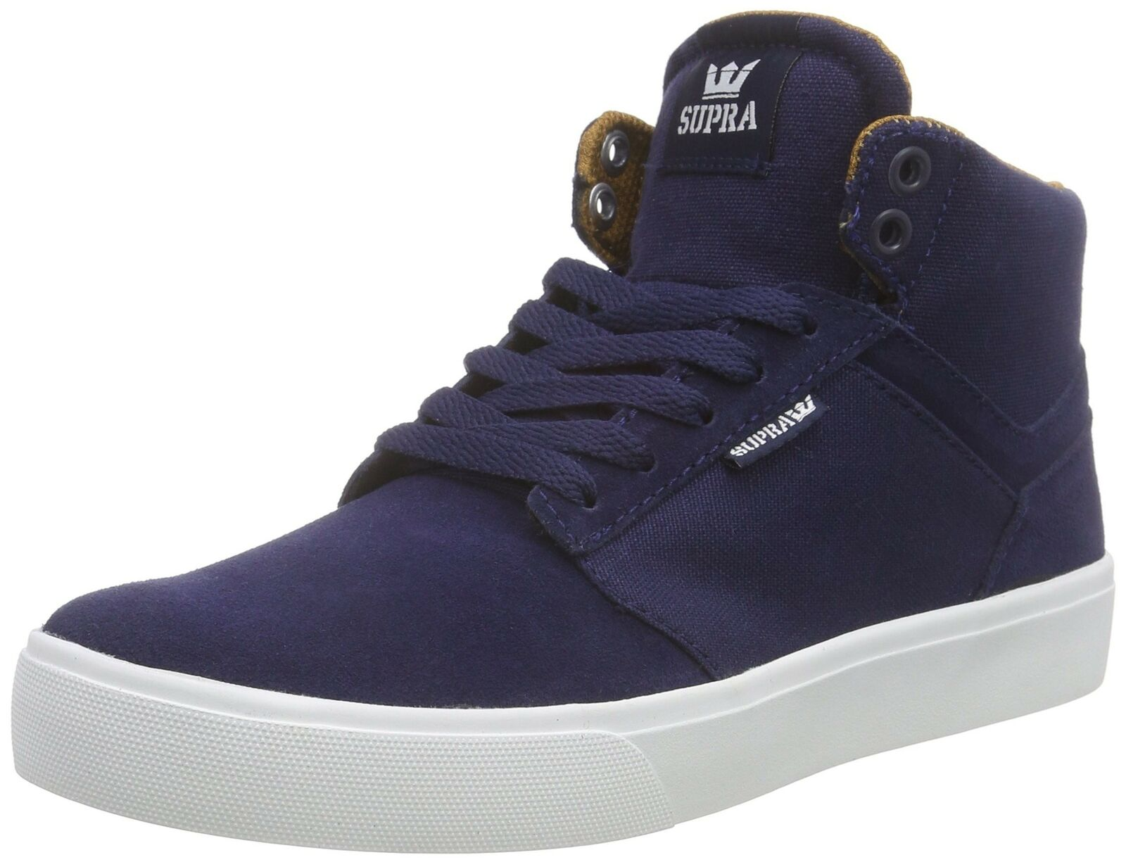 Supra Mens Yorek Hi shoes Size 11 Navy - White