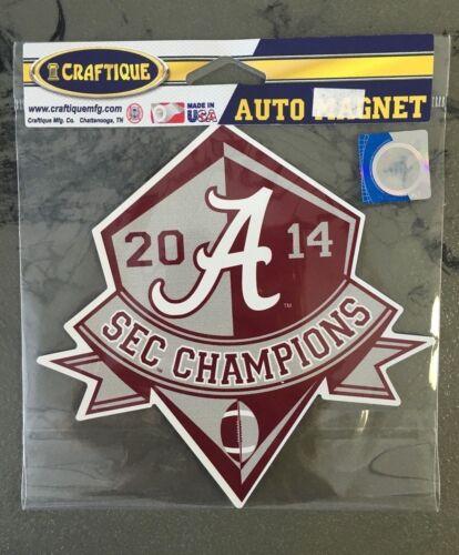 University of Alabama 2014 SEC Champions Large Auto Magnet