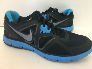 Size amp; Lunarlon Dynamic 8 Shoes Nike Support Black Turquoise Running FTlKJc1