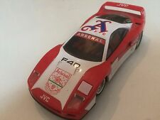 ORIGINAL VINTAGE OLD HORNBY / SCALEXTRIC MODEL FERRARI TOY SLOT RACING CAR ZT