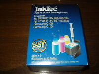 Inktec Refill Kit For Hp 97 & 95 (c8766/c9363-tri Color & Samsung C100/c110