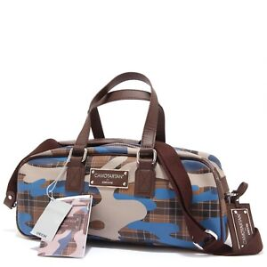 e0d188f4e2 Details about 1347T borsa donna GEOX CAMOTARTAN ecopelle tracolla  staccabile bag woman