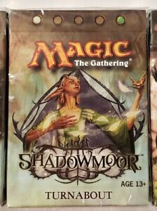 Magic The Gathering (MTG) Shadowmoor Sealed Theme Deck - Turnabout