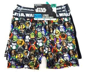 STAR WARS Boys Briefs 7-pack Sizes 2T//3T 4T Licensed Underwear NEW DISNEY