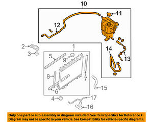 Peachy Nissan Oem 21710Ea01A Engine Coolant Recovery Tank Reservoir Assmbly Wiring Cloud Geisbieswglorg