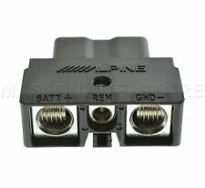 ALPINE PDX-M6  PDXM6 GENUINE QUICK CONNECT POWER PLUG *PAY TODAY SHIPS TODAY*