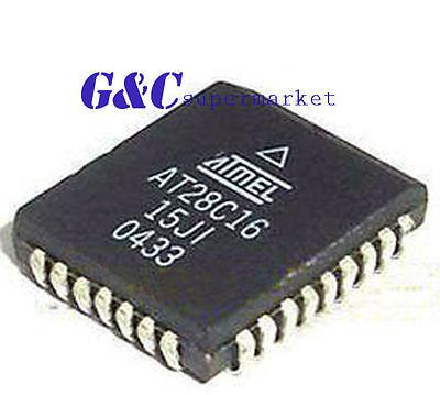 1pcs AT28C16 AT28C16-15JC 28C16 PLCC32   new
