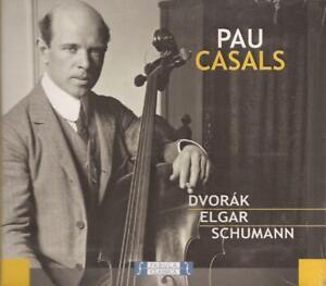 Pau-Casals-Dvorak-Elgar-Schumann-CD-NEW-SEALED
