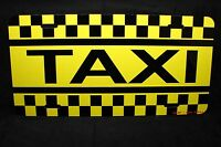 Taxi Cab License Plate For Cabs Taxis Aluminum Metal Nicely Design
