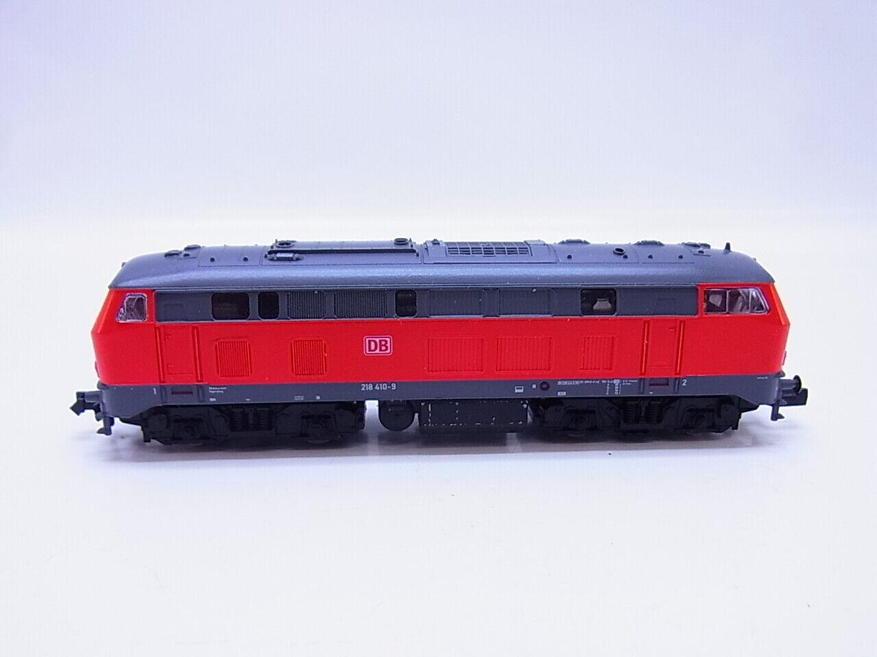 Lot 56152   Fleischmann diesellok br 218 410-9 de la DB para pista n en Box