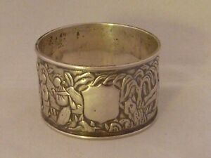 Chinese-800std-solid-silver-figural-napkin-ring