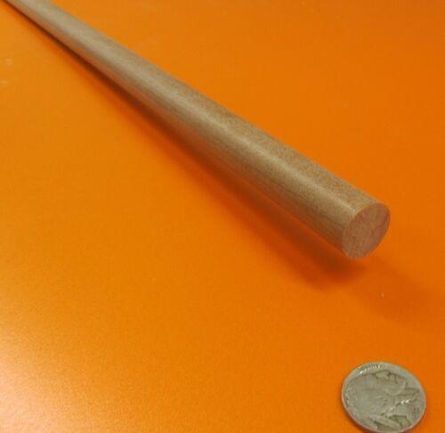 "3//4/"" Phenolic Garolite Micarta LE Linen Rods  .750/"" Diameter x 48/"" Long"