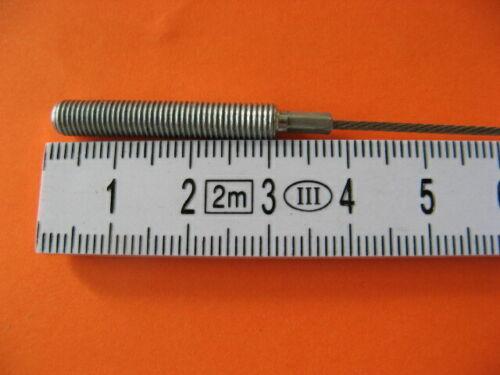 2MM Rosca 175MM SRAM Dual Drive Cable Conmutador de Cambio Sin Klickbox